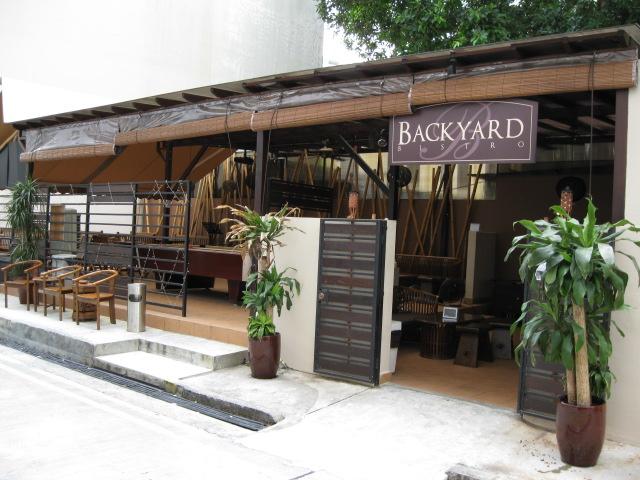 backyard bistro mackenzie road